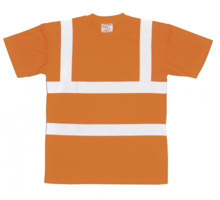 TEE-SHIRT ORANGE FLUO EN471