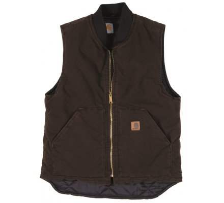 GILET CARHARTT ARCTIC DARK BROWN
