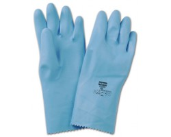 GANTS MENAGE LATEX BLEU T254FL